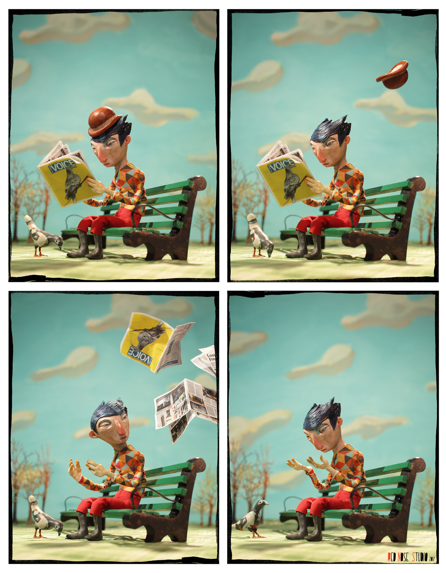 Chris Sickels of Red Nose Studio Animation