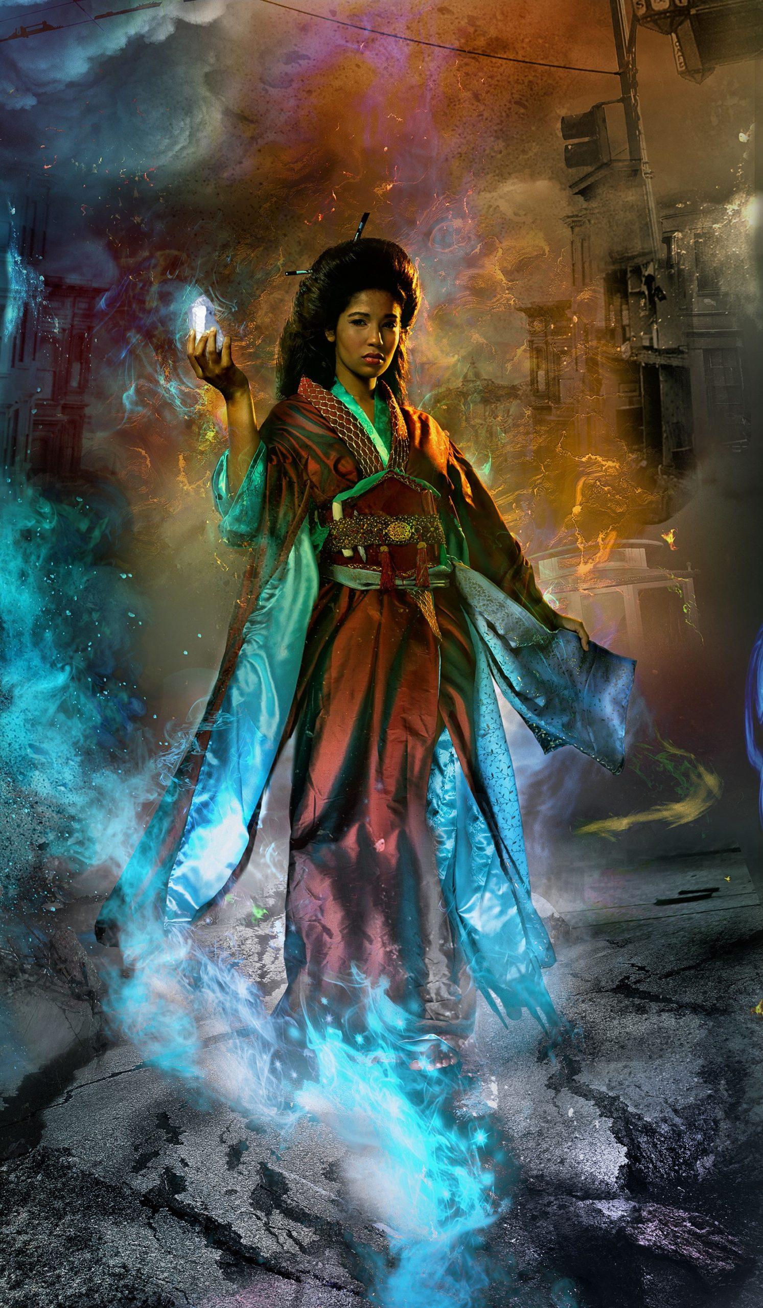 Gene Mollica photoillustration cover art