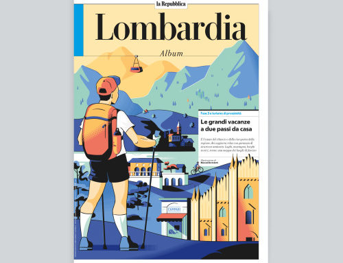 A recent story about Tourism in Lombary for  La Repubblica…