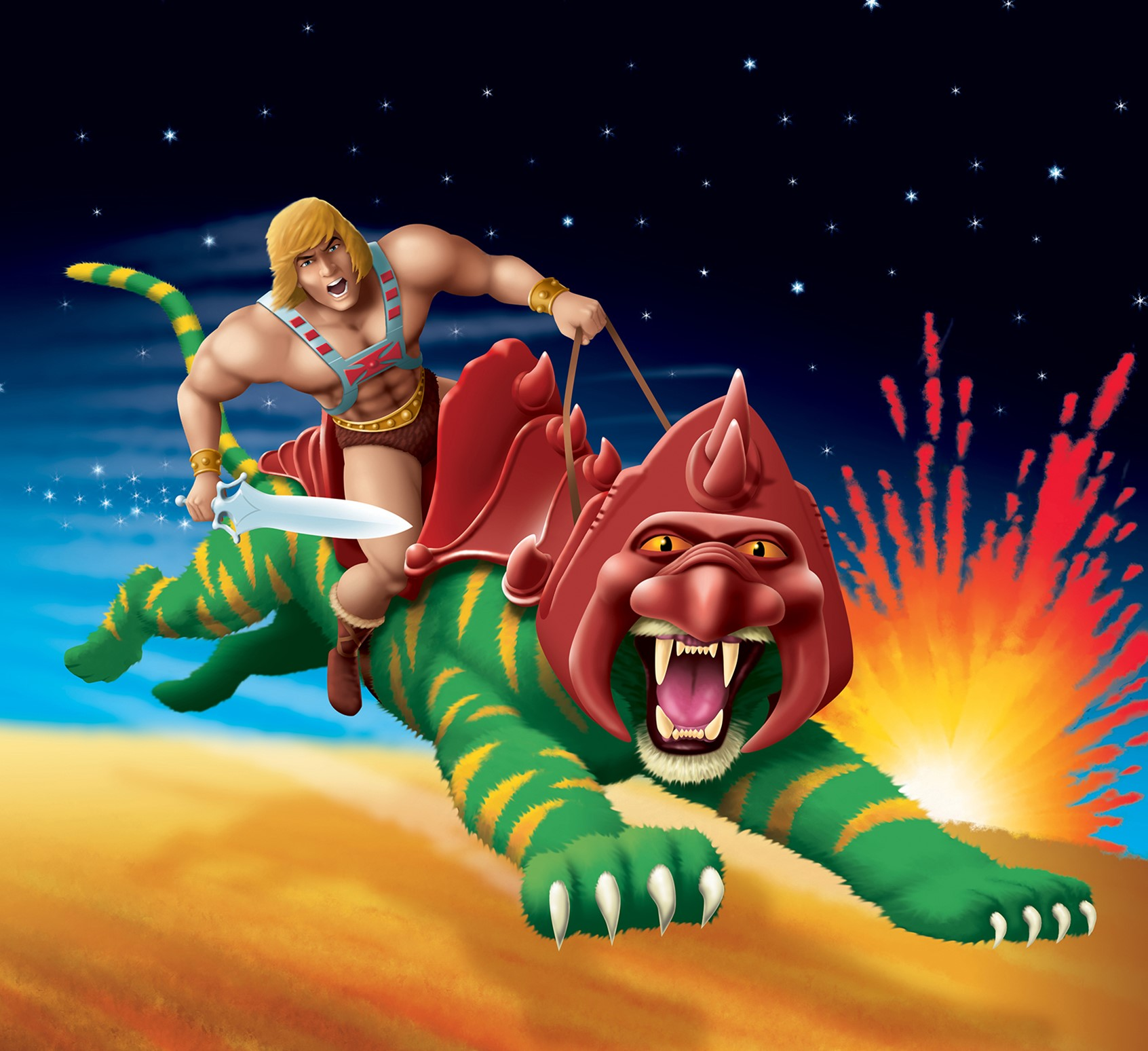 Robin Davies Illustration of He-Man