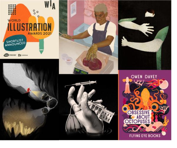 World Illustration Awards 2021 Shortlisted Artists: Luisa Jung, Max Löffler, Fatinha Ramos, Dominic Bodden, Owen Davey